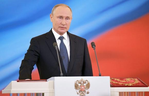 Владимир Путин вступил в должность Президента Российской Федерации