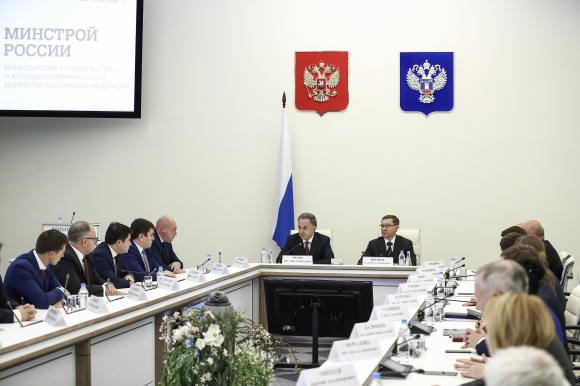 Виталий Мутко представил Минстрою России нового главу, глава пообещал сохранить темп